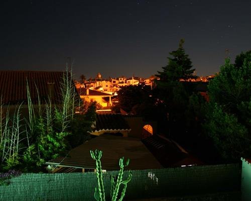 Roof Terrace Views at Night